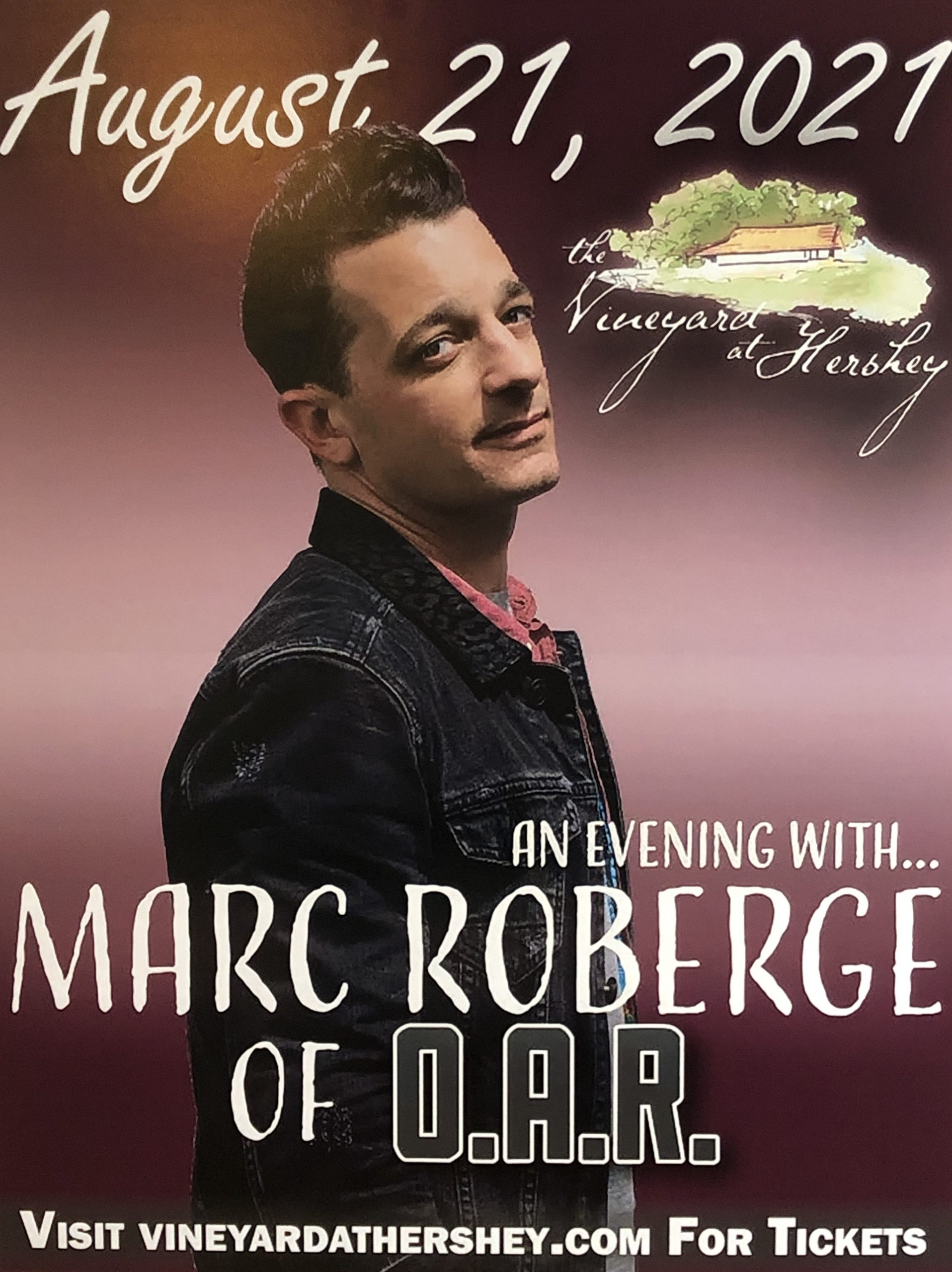 Marc Roberge of O.A.R